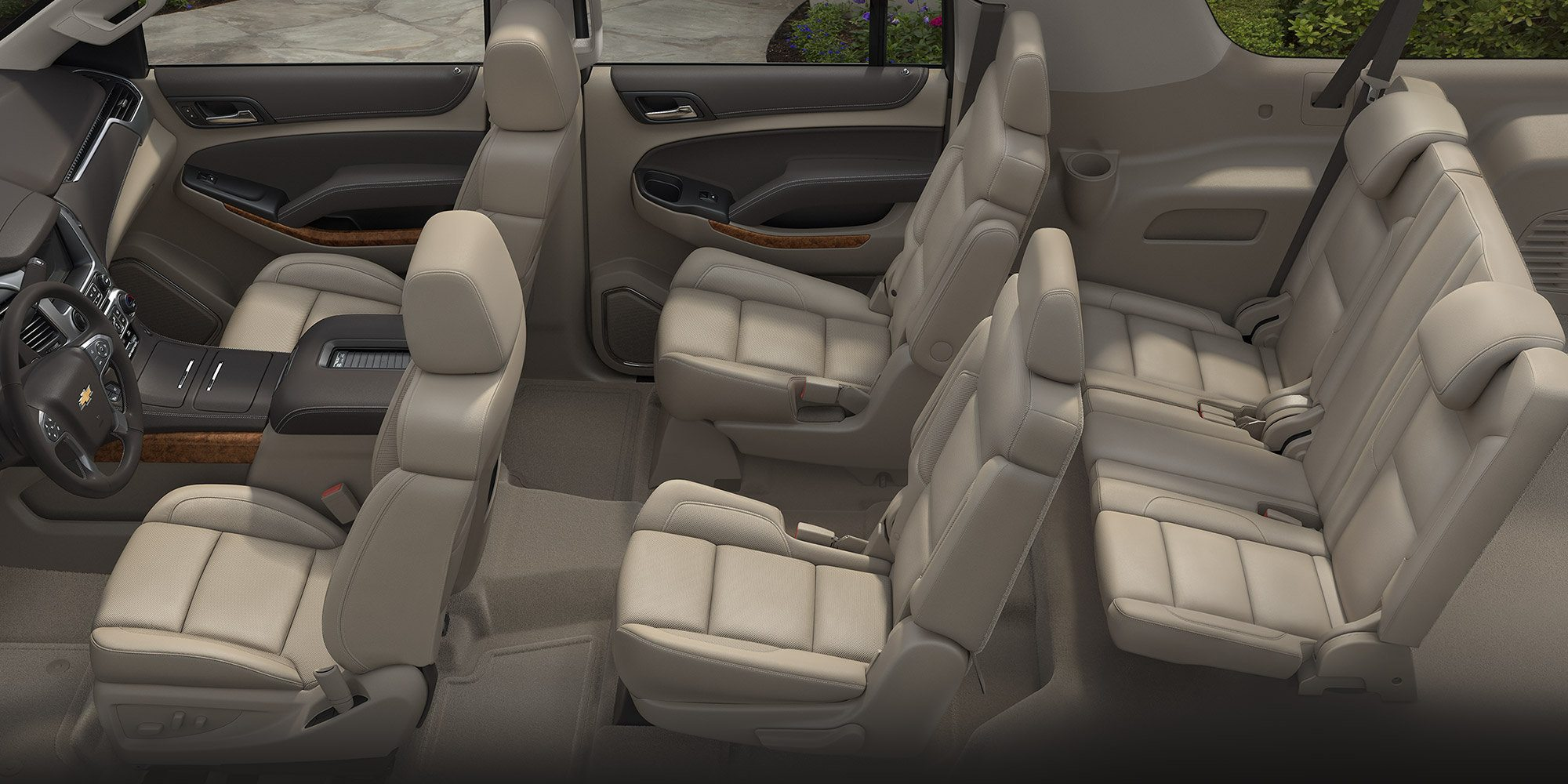 2017 Chevrolet Suburban Seating