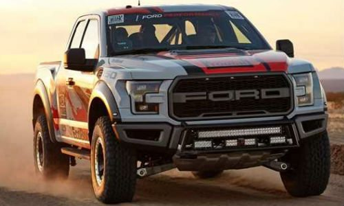 ford f 150 raptor race truck il pickup in versione racing. Black Bedroom Furniture Sets. Home Design Ideas