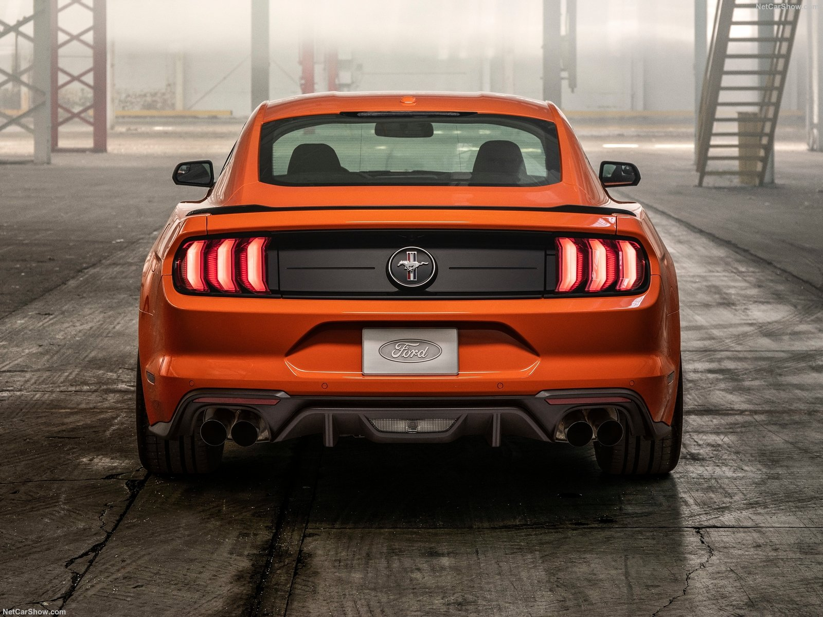 Mustang EcoBoost Performance Package Al Salone Di New York
